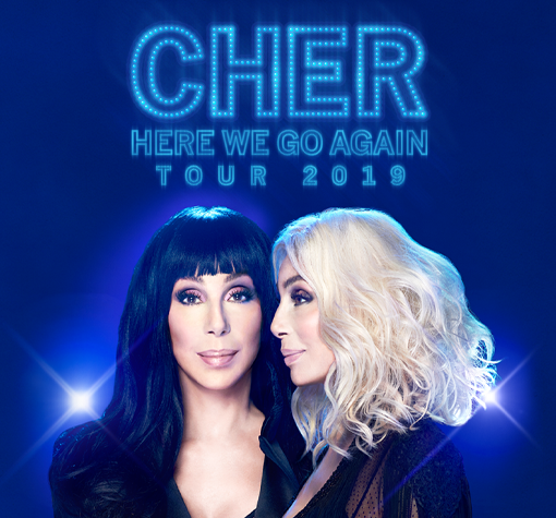 "Cher 2019 ""The Here We Go Again"" Tour in Saint Paul May 18 8pm 2019"