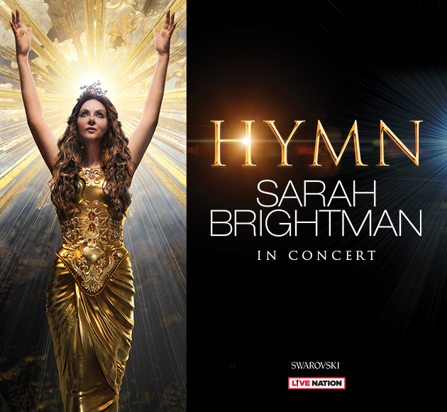 Sarah Brightman is the world's most successful soprano in Greenville February 16 2019