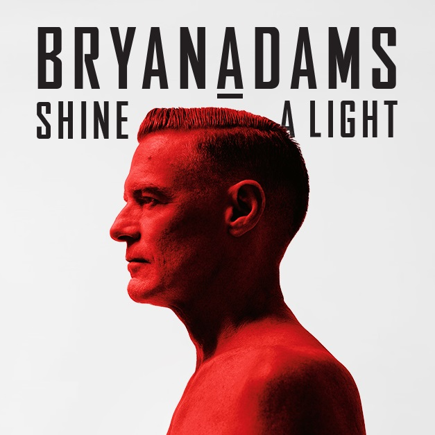 The global superstar Bryan Adams' Shine a Light Tour in Mountain View on September 21 2019