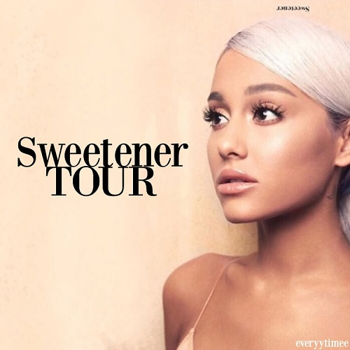 Ariana Grande in new Sweetener World Tour in Ariana Grande in Concert - Chicago April 7 2019