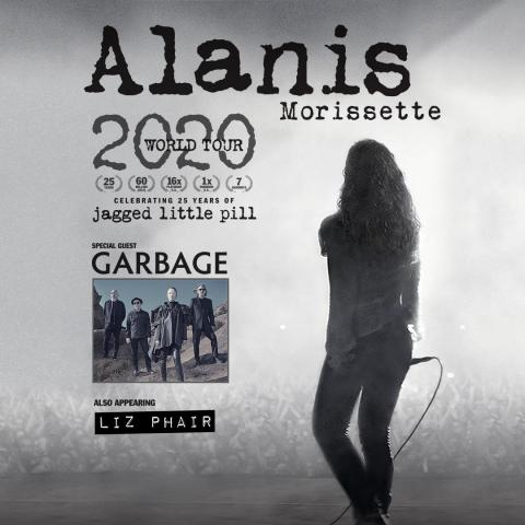 Seven time GRAMMY® Award winning singer/songwriter Alanis Morissette in Saratoga Springs on July 8 2020