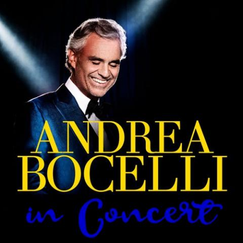 Andrea Bocelli in Concert - Orlando February 13 8pm 2019