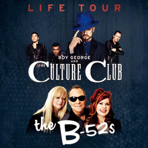 Boy George, Culture Club & The B-52s concert in Santa Barbara Bowl September 23 6pm