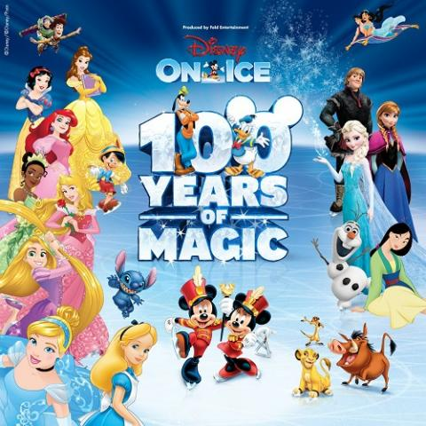 Disney On Ice: 100 Years of Magic family show in San Jose SAP Center October 24-28