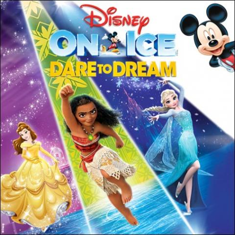 Disney On Ice: Dare to Dream family show in Kent Showare Center November 1 2 3 4 5