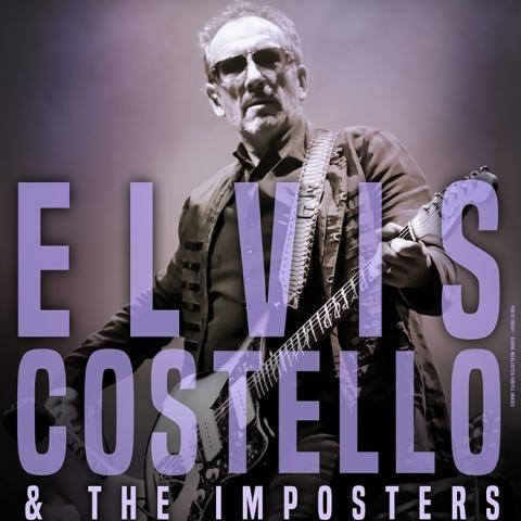 Elvis COSTELLO & The Imposters in San Francisco Nob Hill Masonic Center Decembe 1 8pm