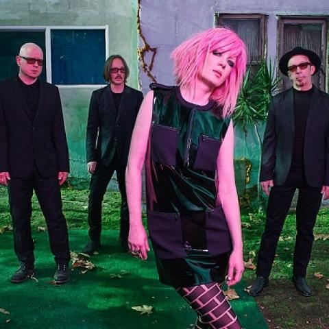 GARBAGE in Version 2.0 concert in San Francisco Fox Theater Oakland october 3 8pm