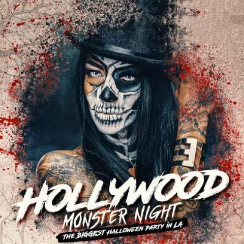 Halloween Monster Night party in Los Angeles Le Jardin Hollywood October 27 9pm