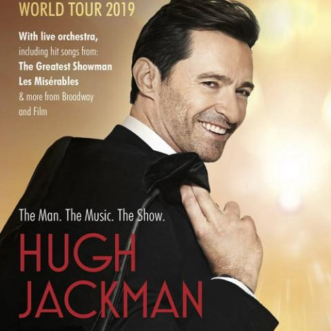 Hugh Jackman is embarking on a global tour in Las Vegas July 13 7pm 2019