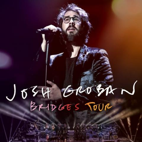 Singer-songwriter Josh Groban in his summer 2019 Bridges tour in Cincinnati on June 12 2019