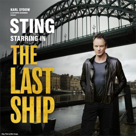"STING stars in ""The Last Ship"" in San Francisco"