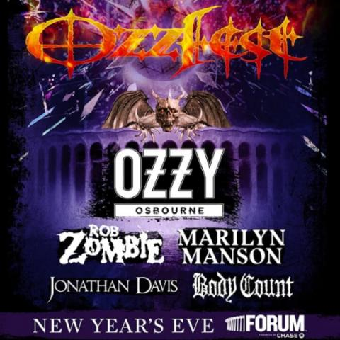 Ozzfest at The Forum in Los Angeles, California on December 31 2018