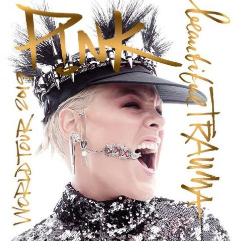 P!NK in Beautiful Trauma World Tour in Las Vegas April 12 8pm 2019