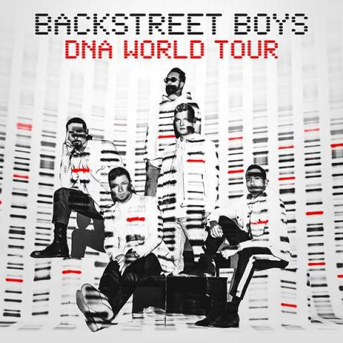 Backstreet Boys in World Tour in Las Vegas February 2 and April 27 8pm 2019