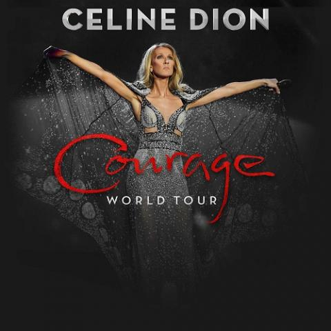 Celine Dion's Courage World Tour — her first global trek in a decade — will kick off in Tulsa on February 5 2020