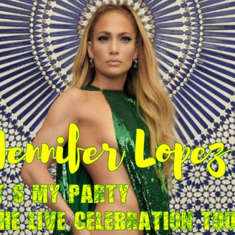 Jennifer Lopez in her second-ever concert tour. The It's My Party: The Live Celebration tour in San Jose on June13 2019