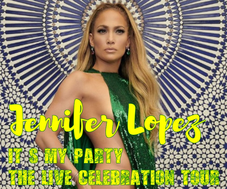 Jennifer Lopez in her second-ever concert tour. The It's My Party: The Live Celebration tour in Atlanta on July 22 2019